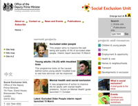 socialexclusion.gov.uk